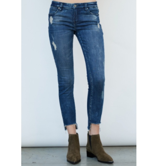 48b0759582c Blank NYC Jeans | Blanknyc Denim Step Hem Intro Skinny Jean | Poshmark